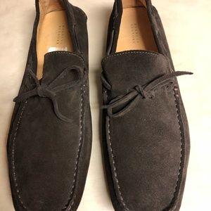 c55c6e4fd8a8f Barneys New York Shoes   Chocolate Suede Driving   Poshmark